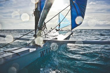 Sailing on a Paraw