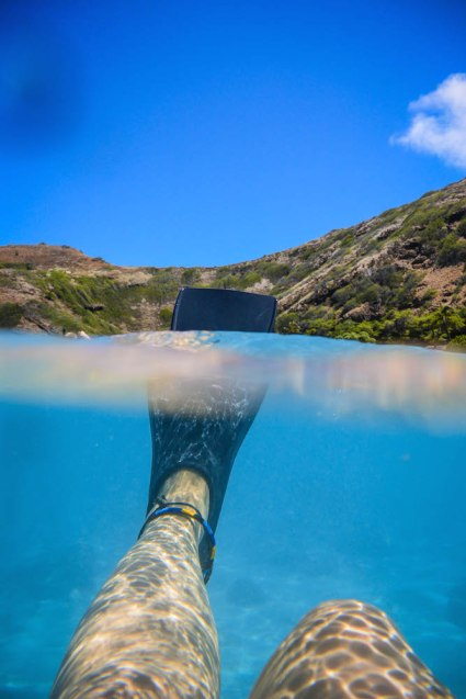 Snorkelling in Hanauma Bay