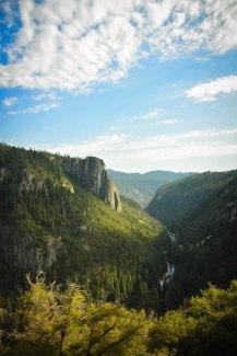 Views of the Sierra Nevada, California, USA