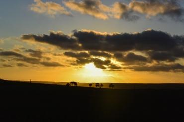 Sunset close to Geraldton