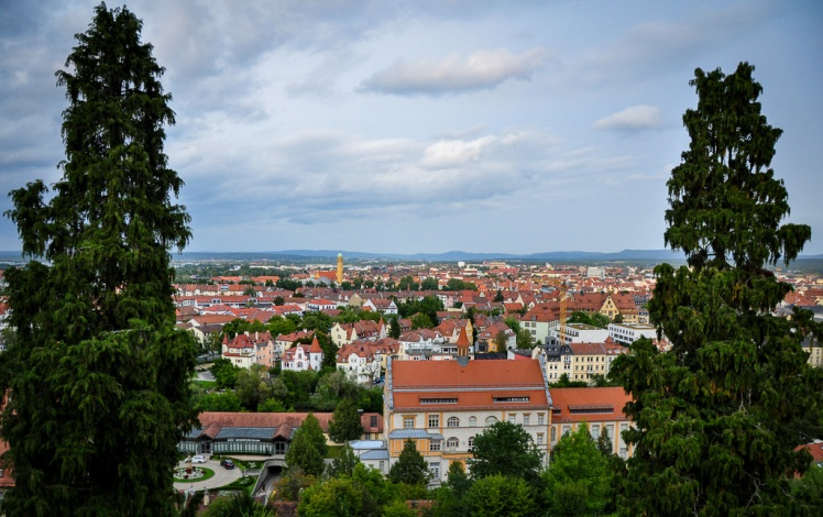 View of Bamberg from Michaelsberg Abbey