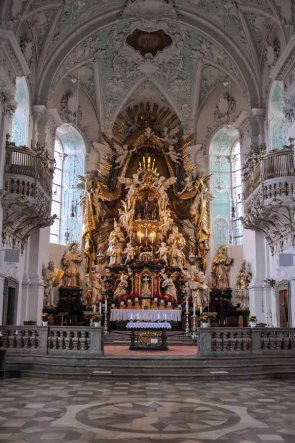 Inside Basilika Gößweinstein