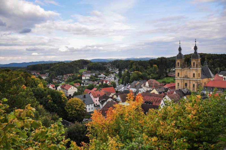 Franconian Switzerland during Autumn